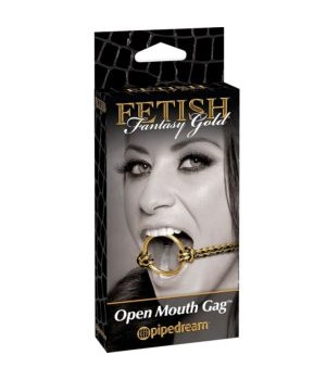 Open Mouth Gag Morso Respirabile (bdsm))
